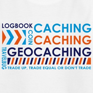 caching caching geocaching - 3colors - Teenage T-shirt
