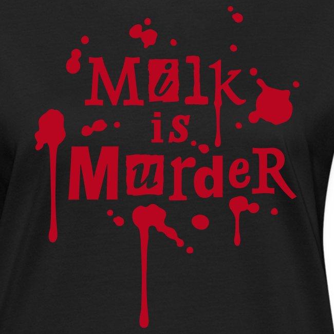 Womens BIO-Shirt 'MILK is Murder' B