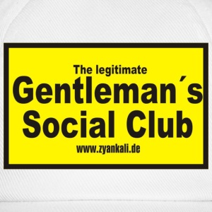 The legitimate gentleman´s... - Baseballkappe