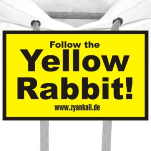 Follow the yellow rabbit - Männer Premium Hoodie