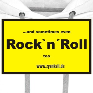 ...and sometimes even Rock`n´Roll too - Männer Premium Hoodie