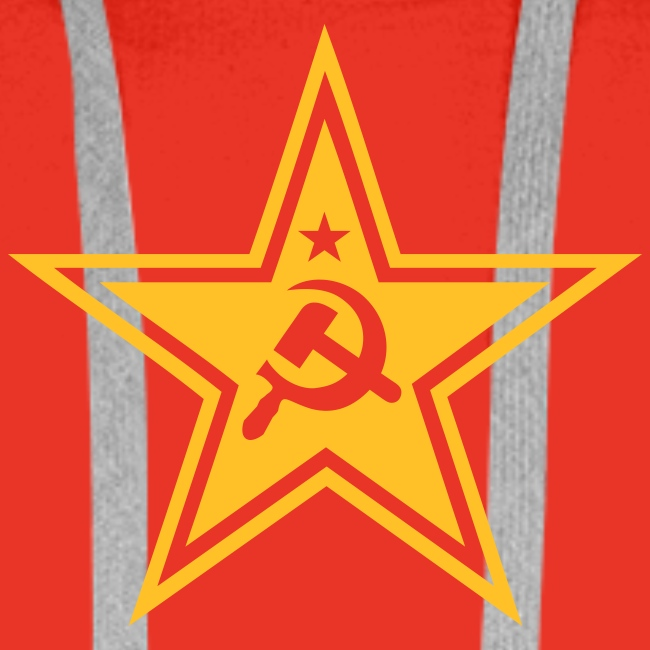 Communist Star Hoodie