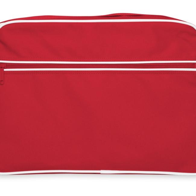 Retrolaukku ilman tekstiä