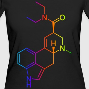 LSD Molecule Colored T-Shirts - Women's Organic T-shirt