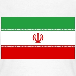 Flag Iran (dd) T-Shirts - Frauen T-Shirt