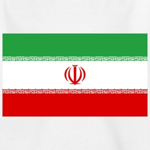 Flag Iran (dd) Børne T-shirts - Teenager-T-shirt