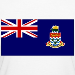 Flag Cayman Islands (dd) T-shirts - T-shirt Bio Femme