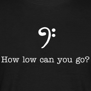 bass_clef T-Shirts - Men's T-Shirt