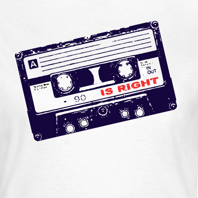 Retro tape t shirt
