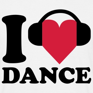 I love Music - Dance T-Shirts - Men's T-Shirt