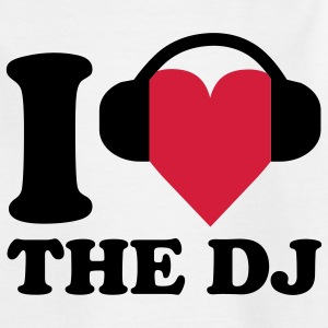 I love Music - DJ Kinder T-Shirts - Teenager T-Shirt