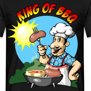 King of barbecue - Männer T-Shirt