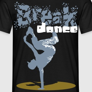 Breakdance - Männer T-Shirt