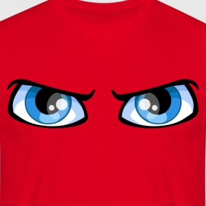 The eyes - Mannen T-shirt
