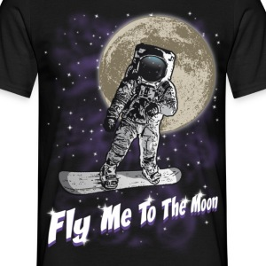 Fly me to the moon - Männer T-Shirt