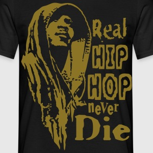 Real hip hop - Mannen T-shirt