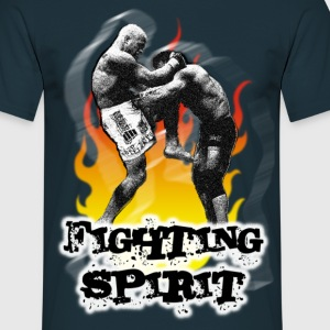 Fighting spirit - Mannen T-shirt