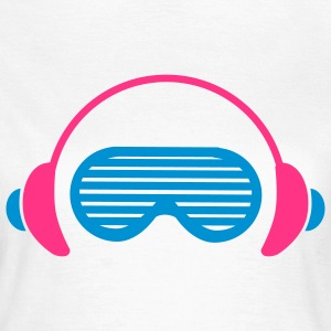 Shutter Shades and Headphones T-Shirts - Women's T-Shirt
