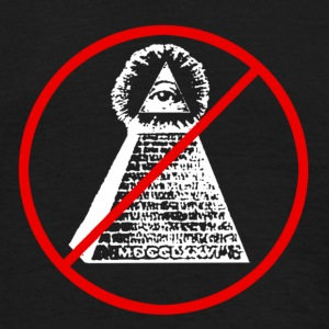 Anti Illuminati - T-shirt Homme
