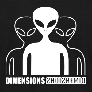 Extraterrestre Dimensions - T-shirt Homme