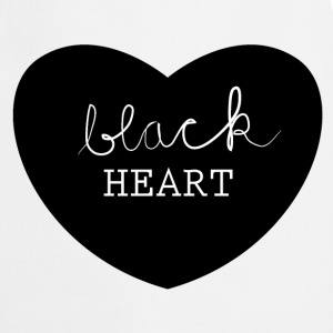 black heart  Aprons - Cooking Apron