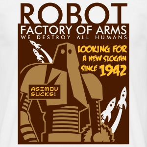 robot_3c T-Shirts - Men's T-Shirt