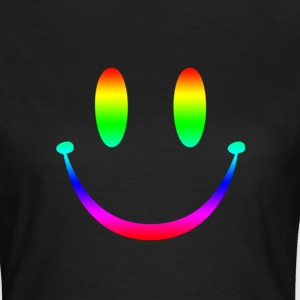 Rainbow Smiley 3 T-Shirts - Women's T-Shirt