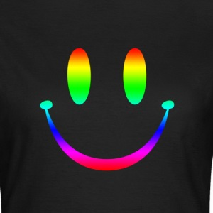 Rainbow Smiley 3 T-shirts - T-shirt Femme