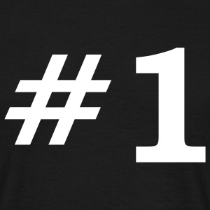 Number One T-Shirts - Men's T-Shirt