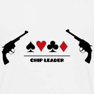 Poker - Chip Leader T-shirts - T-shirt Homme