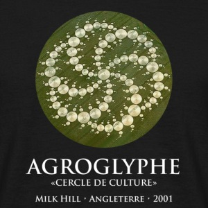 Agroglyphe (Crop circle) Cercle de culture - T-shirt Homme