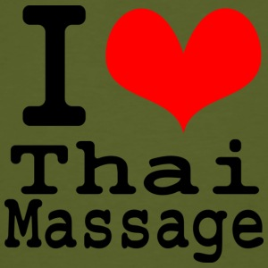 I love Thai massage T-Shirts - Men's Organic T-shirt