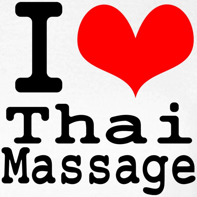 I love Thai massage