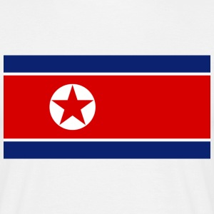 Flag North Korea (dd) T-skjorter - T-skjorte for menn
