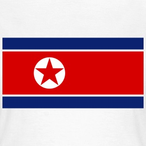 Flag North Korea (dd) T-shirt - Maglietta da donna