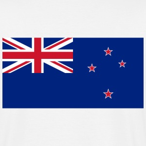 Flag New Zealand (dd) T-Shirts - Men's T-Shirt