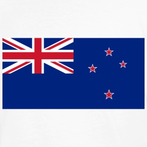 Flag New Zealand (dd) T-shirts - Ekologisk T-shirt herr