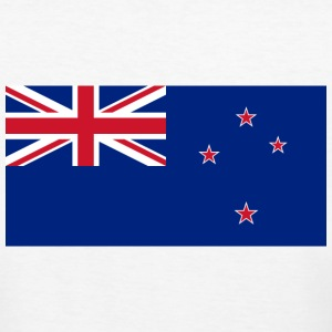 Flag New Zealand (dd) T-shirt - T-shirt ecologica da donna