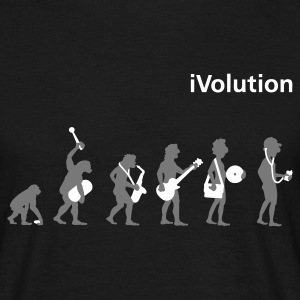 Black iVolution T-Shirts - Men's T-Shirt