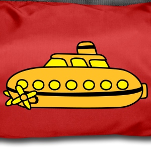 Small yellow submarine Bags  - Duffel Bag