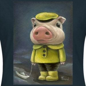 Peter the pig - Frauen T-Shirt