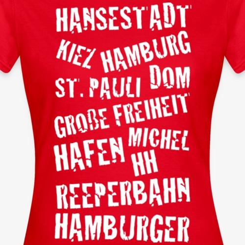 Hamburger Begriffe weiss
