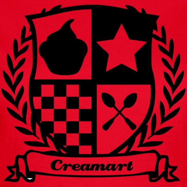 T-shirt Blason Creamart Femme