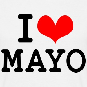 I Love Mayo T-Shirts - Men's T-Shirt