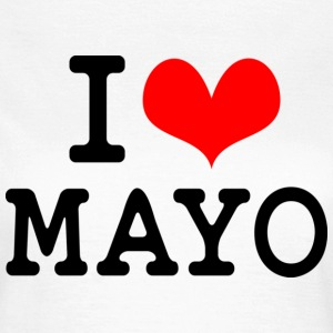 I Love Mayo T-Shirts - Women's T-Shirt