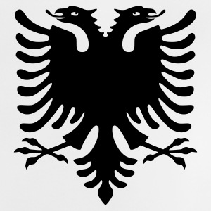 Double headed eagle, eagle, Albania, Kosovo, coat of arms, flags, LARP, roleplay, symbols, Albanian Eagle, www.eushirt.com - Baby T-Shirt