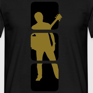 Guitarist musician band shirts T-Shirts - Men's T-Shirt