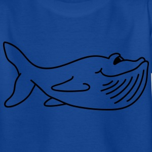 Cute baleine T-shirts Enfants - T-shirt Ado