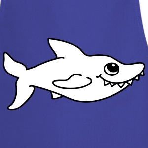 Small white shark  Aprons - Cooking Apron