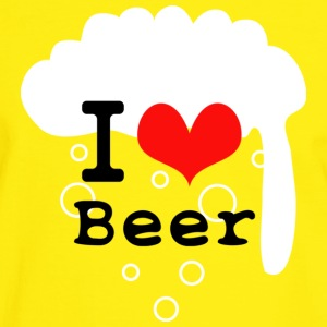 I Love Beer T-Shirts - Men's Ringer Shirt